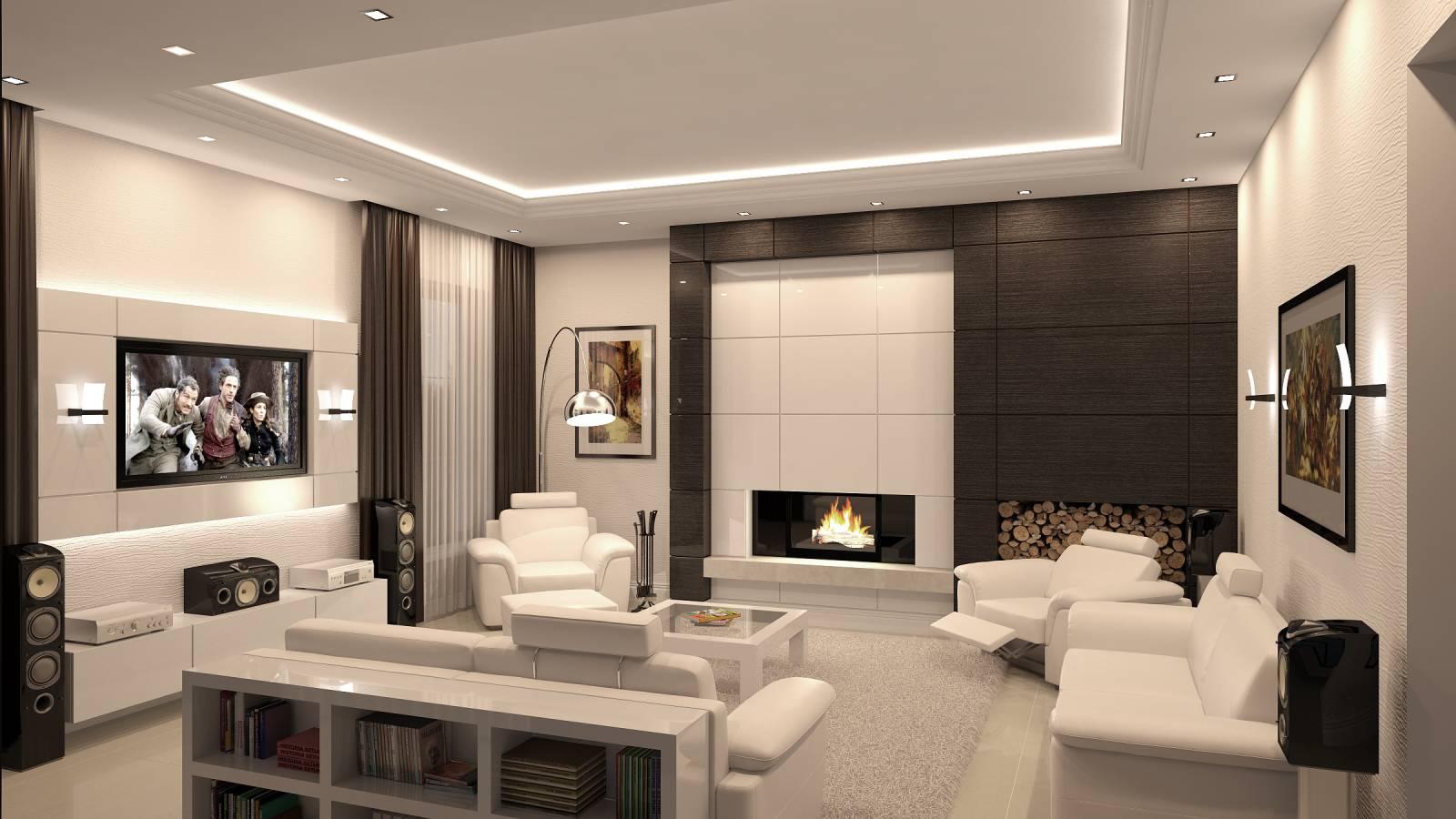 Дизайн в гостиной комнате 3 на 4 метра